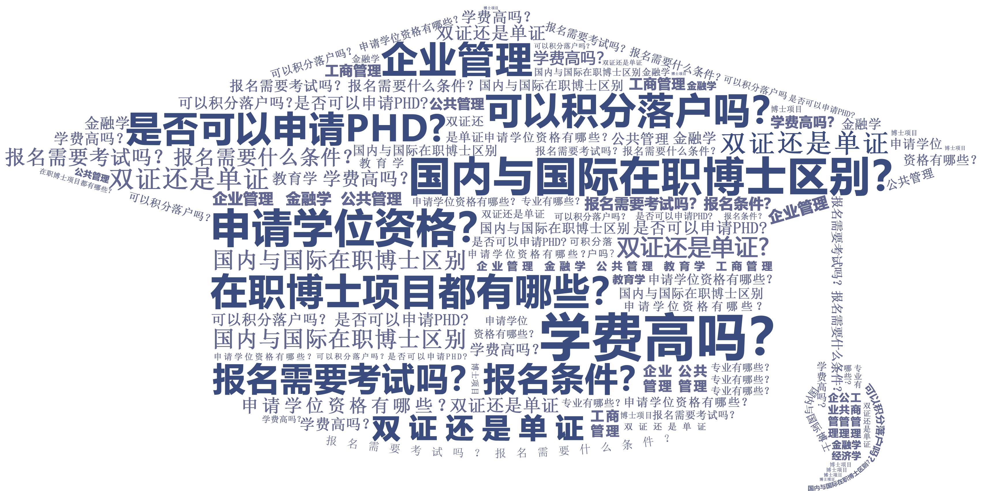 中国社会科学院研究生院在职博士